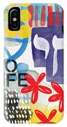 Carousel #5 - Contemporary Abstract Art IPhone Case