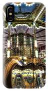 Carousel At Hotel Deville IPhone Case