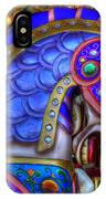 Carousel Beauty Blue Charger IPhone Case
