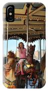 Carousel Brooklyn Bridge Park IPhone Case