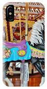Carousel Horse 4 IPhone Case