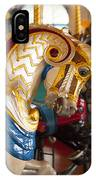 Colorful Carousel Merry-go-round Horse IPhone Case