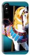 Carousel Horse White IPhone Case