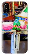 Carousel Horse With Flower Drape IPhone Case