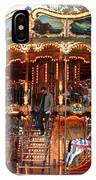 Carousel In Avignon IPhone Case