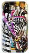 Carousel Zebra IPhone Case