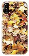 Carpet Of Leafs IPhone Case
