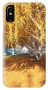 Carpet Of Yellow Leaves IPhone Case