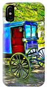Amish Carriage IPhone Case