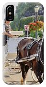 Carriage Ride Down River Road IPhone Case