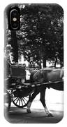 Carriage Ride Nyc IPhone Case