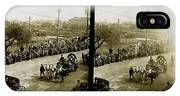 Carriages Carrying Admiral Togo IPhone X Case