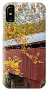 Carrollton Covered Bridge IPhone Case