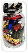 Cars In A Jar IPhone Case