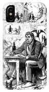 Cartoon Alcoholism, 1874 IPhone Case