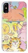 Cartoon Animals IPhone Case