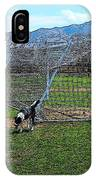 Cartoon Collection No 4 Life With A Border Collie In Usa IPhone Case