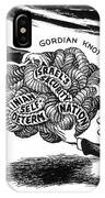 Gordian Knot, 1977 IPhone Case