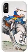 Cartoon: Outcome, 1779 IPhone Case