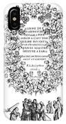 Cartouche, 1635 IPhone Case