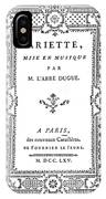Cartouche, 1765 IPhone Case