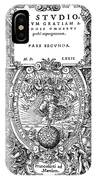 Cartouches, 1572 IPhone Case