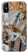 Caruosel Horses IPhone Case