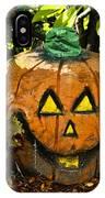 Carved Pumpkin 5 IPhone Case