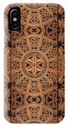 Carved Wooden Cabinet Symmetry IPhone Case
