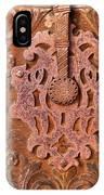 Carved Wooden Door IPhone Case