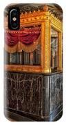 Carver Theatre Box Office - Birmingham Alabama IPhone Case