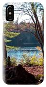 Cary Lake In The Fall IPhone Case