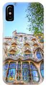 Casa Batllo Facade IPhone Case