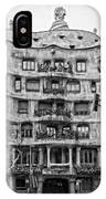 casa Mila barcelona IPhone Case