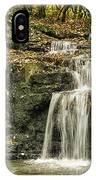 Cascade Falls IPhone Case by Heather Roper