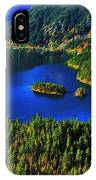 Cascades Lake IPhone Case