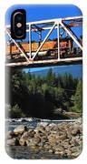 Cascades Rail Bridge IPhone Case