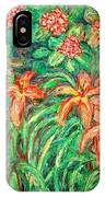 Cascading Day Lilies IPhone Case