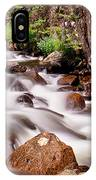 Cascading Rocky Mountain Forest Creek IPhone Case