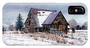 Cache Valley Barn IPhone Case