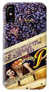 Case Of Sangiovese Grapes IPhone Case