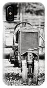 Case Tractor - Bw IPhone Case