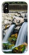 Caserta Palace Fountain 1 IPhone Case