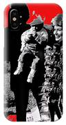 Cash Family In Red Old Tucson Arizona 1971-2008 IPhone Case