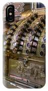 Cash Register Vintage IPhone Case