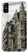 Casino Arcade Damrak Amsterdam IPhone Case
