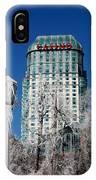 Casino Under Ice IPhone Case