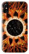 Cassiopeia Iris Constellation IPhone Case