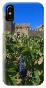 Ripe On The Vine Castelle Di Amorosa IPhone Case