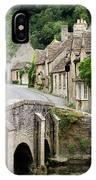 Castle Combe Cotswolds Village IPhone Case
